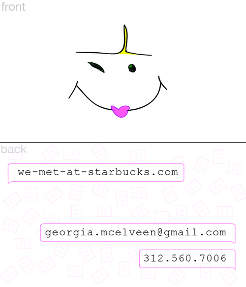 We met at starbucks thesis advertisements tags business card colourmoves
